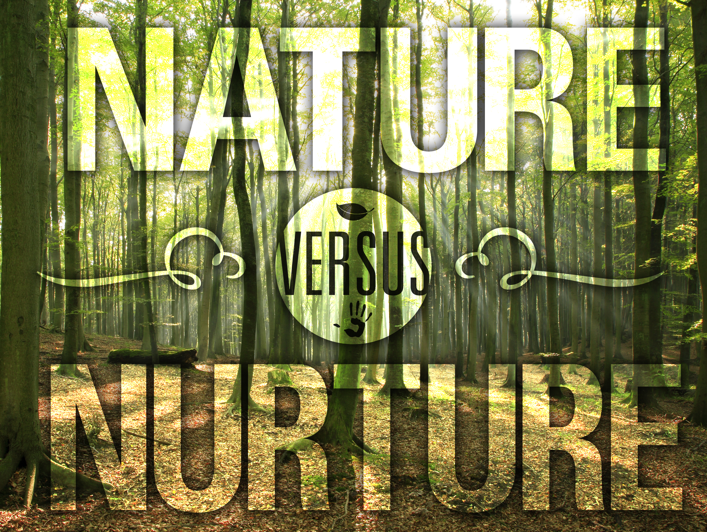 nature vs nurtur Example of a thesis for a 'nature vs nurture' essay nature has some profound impact on the development of a child however, it is the element of nurture which determines their.